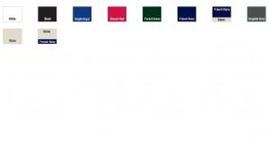 B65 Colours
